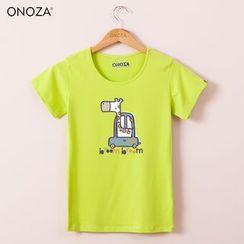 Onoza - 短袖长颈鹿T恤