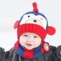 POMME - 嬰兒猴子無邊帽