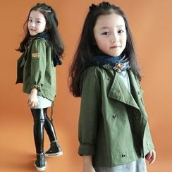 Cuckoo - Kids Hooded Trench Jacket