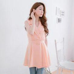 Tokyo Fashion - Sleeveless Trench Dress