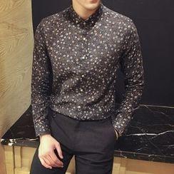 Maluda - Long-Sleeve Printed Shirt
