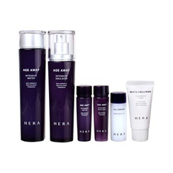 HERA - Age Away Intensive Set: Water 150ml + 30ml + Emulsion 120ml + 30ml + Cell Essence 30ml + Cleansing Foam 30ml