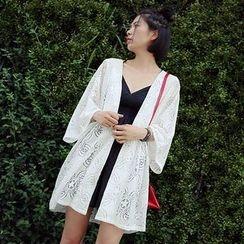 Moon City - Lace Kimono Jacket