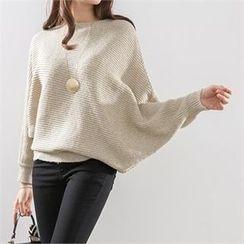 PEPER - Dolman-Sleeve Knit Top