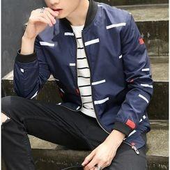 Izme - Patterned Zip Jacket