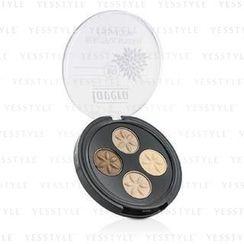 Lavera - Beautiful Mineral Eyeshadow Quattro - # 02 Cappuccino Cream