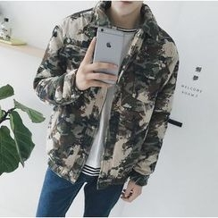 Bestrooy - Camo Padded Jacket