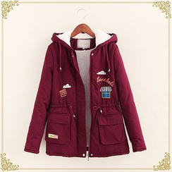 Fairyland - Embroidered Hooded Parka