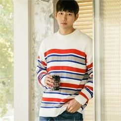 STYLEMAN - Color-Block Sweater