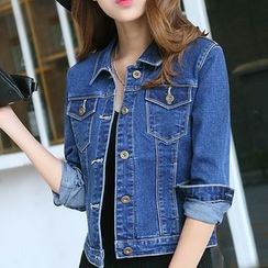 Lanka - Cropped Denim Jacket