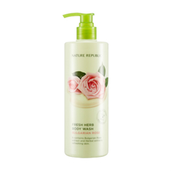 Nature Republic - Fresh Herb Body Wash Bulgarian Rose 400ml