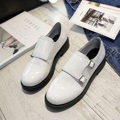 MANMANNI - 飾扣帶樂福鞋
