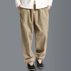 Sparrow Farm - 抽绳宽腿长裤