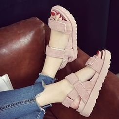 Charming Kicks - Wedge Sandals