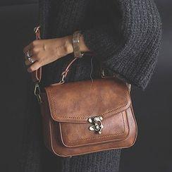 Clair Fashion - 復古單肩側背包郵差包