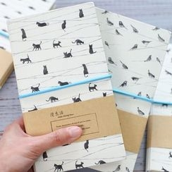 Homey House - Printed Notebook (M)