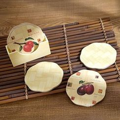 Home Simply - Set of 7: Printed Coaster