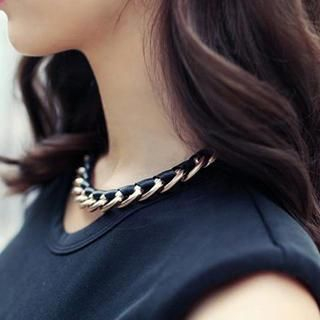 Cuteberry - Woven Chain Necklace