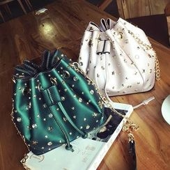 Nautilus Bags - Studded Bucket Bag