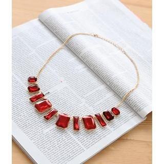 Petit et Belle - Beaded Statement Necklace