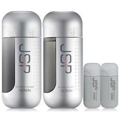 VONIN - JSP Sports O2 Power Up Set: Skin 140ml + Emulsion 140ml + Skin 25ml + Emulsion 25ml