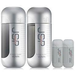 VONIN - JSP Sports O2 Power Up Set: Skin 140ml + Emulsion 140ml + Skin 25ml + Emulsion 25ml