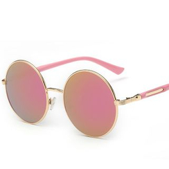 Koon - 复古圆框太阳眼镜