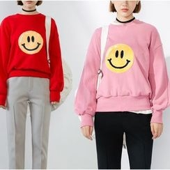Heynew - Smile Face Sweatshirt