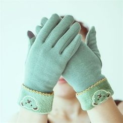 Lose Show - Embroidered Touchscreen Gloves