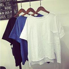 Ainvyi - Oversized Short-Sleeve T-Shirt