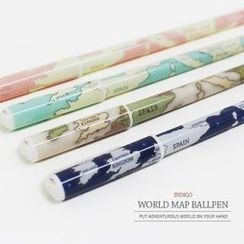 iswas - 'World Map' Series Ball Pen