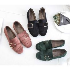 Chryse - Fringed Loafers