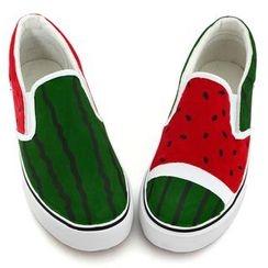 BUDING - 帆布便鞋