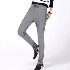 Lina - Side-Zip Sweatpants