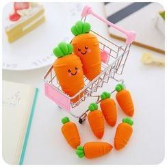 Fancy Mansion - Carrot Silicone Eraser