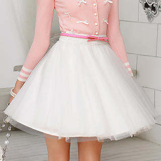 Dabuwawa - A-Line Tull Skirt