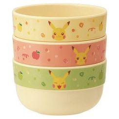 Skater - Pokemon Plastic Bowl Set (3 Pieces)