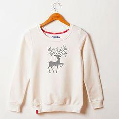 Onoza - Deer-Print Pullover
