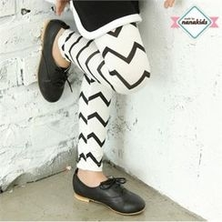nanakids - Girls Zigzag Leggings