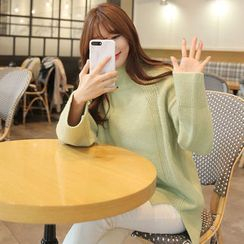 CLICK - Turtle-Neck Long Sweater
