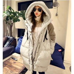 Mariposa - Hooded Down Coat