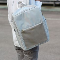 ideer - Kendall Stone Grey Backpack