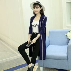 SimplyMe - Long Striped Cardigan
