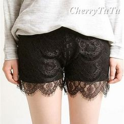 CherryTuTu - Lace Under Shorts