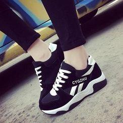 Solejoy - 配色运动休闲鞋