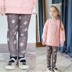 LILIPURRI - Girls Floral Pattern Leggings
