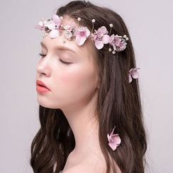 Miss Diva - Floral Hairband / Hair Stick