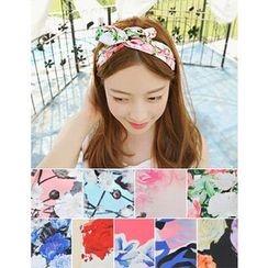soo n soo - Floral Print Hair Tie