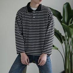 DragonRoad - Striped Long Sleeve T-Shirt