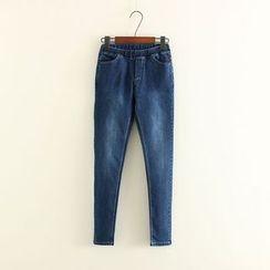 Mushi - Band Waist Jeans